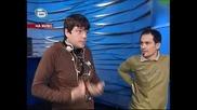 Music Idol 2:Иван Ангелов прекъсва репетицията на Етиен Леви 17.03.2008 *HQ*