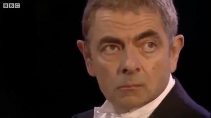 Мистър Бийн на откриването на Олимпиадата в Лондон