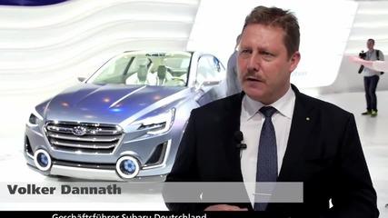 Нови модели Subaru Wrx Sti и Subaru Viziv2 2014 - Video