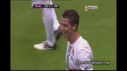 Кристиано Роналдо с две греди и гол. Чехия - Португалия - 0:1