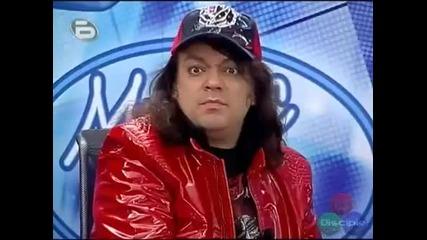 Music Idol - Майкъл Джексън на кроасаните! (смях)