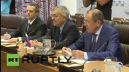 UN: Lavrov meets with Gulf counterparts to discuss regional issues