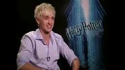 Tom Felton - интервю Harry Potter and the Half Blood Prince част 2