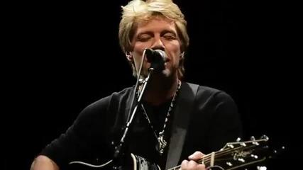 Jon Bon Jovi - Not Running Anymore (live 11_9_12) - Brand New Song