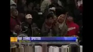 Крис Браун И Риана = Прегръдки И Целувка