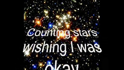 Sugarcult - Counting stars - lyrics