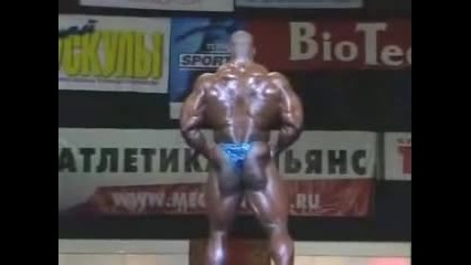 Ronnie Coleman 2004 Russian Grand Prix