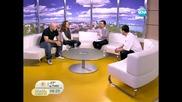Гайда и хип-хоп в видеоклип на група Ice Cream - Нова Телевизия 31.01.2012 г.