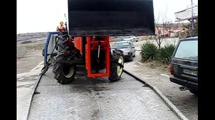 Ktm Trading ltd - Челен товарач на японски трактор Hinomoto