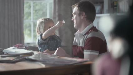 Силната обич между баща и дъщеря!