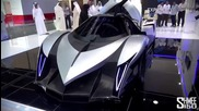 Егзодията на колите-5,000hp Devel Sixteen - Crazy V16 Hypercar 560km-h Top Speed