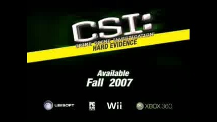 CSI: Hard Evidence Trailer