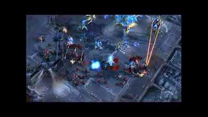 Starcraft 2 Gameplay 4 - Protoss