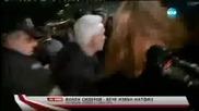 Полицай удря Волен Сидеров, студенти искат и те !