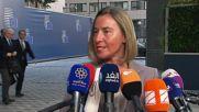 Belgium: US a 'friend' not foe of EU - Mogherini