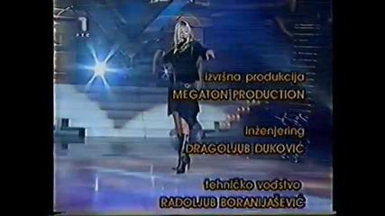 Natasa Bekvalac - Sada je stvarno kraj - Mega Hit - (TV RTS 2003)