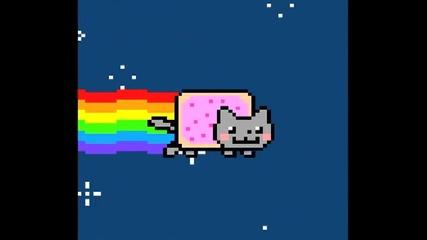 Зарибяяващааата песничка Nyan cat ~ ляля ..