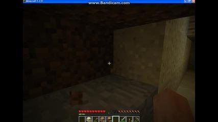 Minecraft Survival S1 E2-оформления по къщата