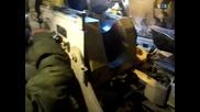 """Стрелба със руска Самоходна артилерийска установка 2с1 """" Гвоздика """""""