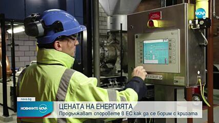 Разногласия в Европа заради цената на газа и тока