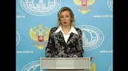 Russia: Syria 'truce should not be limited in time' - FM's Zakharova