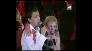 (Превод) Nikos Vertis & Peggy Zina - Xanomaste Live (Никос Вертис & Пеги Зина - Губим се)