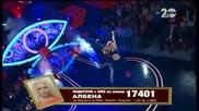 Албена Вулева и Наско Месечков - латино танц - VIP Brother финал (17.11.2014г.)