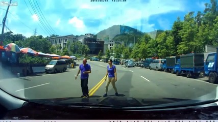 Измамата на пешеходци не мина по план