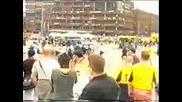 [hooligans] scontri tra arsenal vs galatas 18+!!!