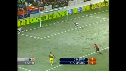 Osasuna - Atletico Madrid 0:1