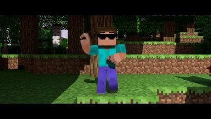Пародия-minecraft Psy Gangnam style