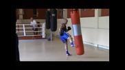 К1 тренировка. Impact - Fight Academy.