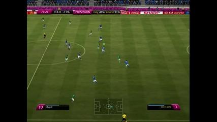 fifa 2012 Italy-ireland 0:2