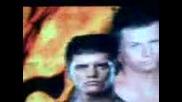 Rey Mysterio and Sin Cara vs The Miz and Codi Rothes