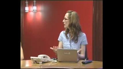 Стефи и Поли-интервю в Канал-0 (09.7.2011г.)