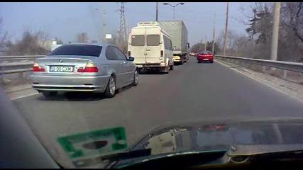 Протест срещу високите цени на горивата Русе 27.03.2011 Част 2