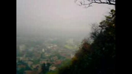 Град Кюстендил Рано Сутрин - Яка Мъгла