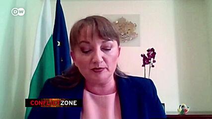 """Деница Сачева пред ДВ: """"Президентът подклажда насилието"""""""