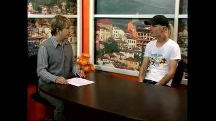 Гостуване в сутрешния блок на телевизия Евроком Царевец / 1 Част