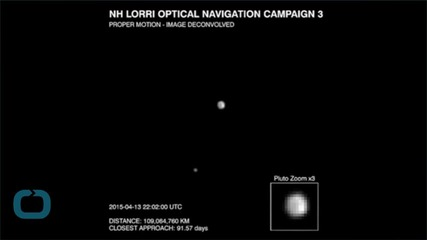 Pluto Probe Uncovers Mysterious 'Dark Pole'