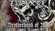 Ektomorf - Brotherhood of Man / Tribute to Lemmy - 2016 - official audio video - Afm Records