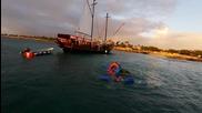 Епична пиратска водна битка в Аруба