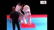 European Kyokushin Championship 2011-orest Proc -marius Ilas
