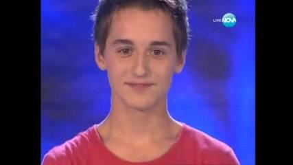 Богомил №1 - X Factor цяла България - Viva la Vida ( Coldplay ) 27.09.2011