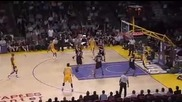 Kobe Bryant 36 points Lakers Win Blazers 2008 Mvp!
