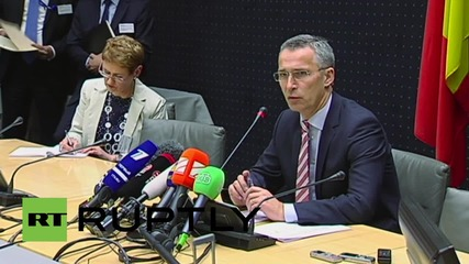 Belgium: Stoltenberg sets out what Minsk implementation means to NATO