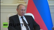Azerbaijan: Putin meets President Aliyev in Baku for bilateral talks