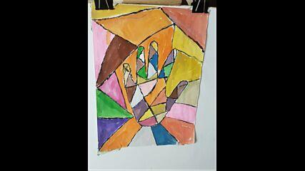 Рисунки на Нина Чомакова, 5. Г клас