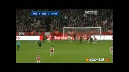 30.11.2010 Арсенал - Уигън 2:0 Карлинг Къп