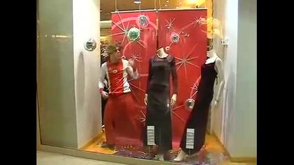 Remi Gaillard - Танцуване на витрината на магазин